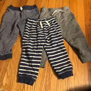Carter's Bottoms - Set of three jogger sweatpants